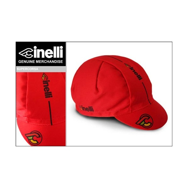Cinelli Supercorsa Cycling Cap in Red