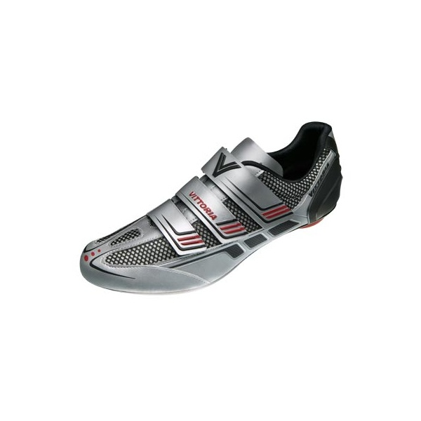 Vittoria-Shoes-MSG-Silver-Road-Bike-Cycle-Cycling-Shoes