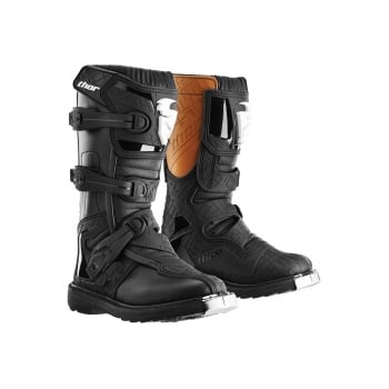 Thor Youth Kids Blitz Motocross Boots - Black