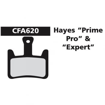EBC MTB Mountain Bike Disc Brake Pads - To Fit Hayes Prime/Pro/Expert - Green
