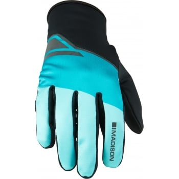 Madison Sprint Mens Softshell Full Finger Cycling Gloves