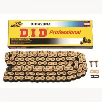 DID 428 NZ(FJ) X 116 Link Chain - Gold/ Black