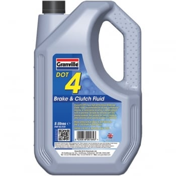 Granville DOT4 Brake Fluid - 5 Litre