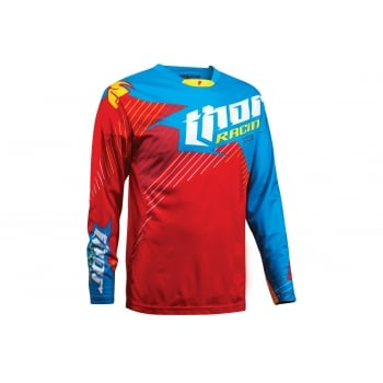 Thor Core Jersey S16 Hux Limited Edition - Red / Cyan