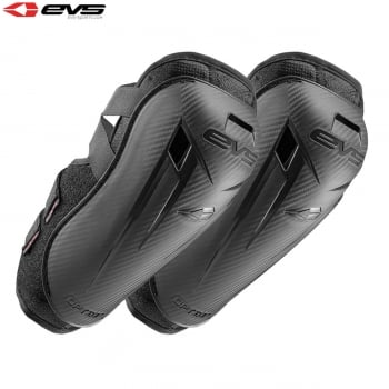 EVS Adults Option Elbow Guards - Black - One Size