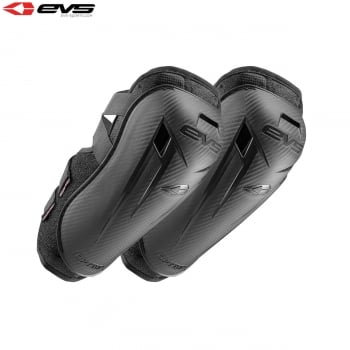 EVS Youth Option Elbow Guards - Black - One Size