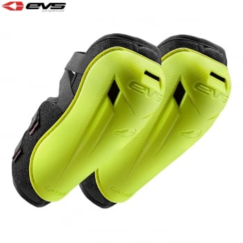 EVS Adults Option Elbow Guards - Hi Vis Yellow - One Size