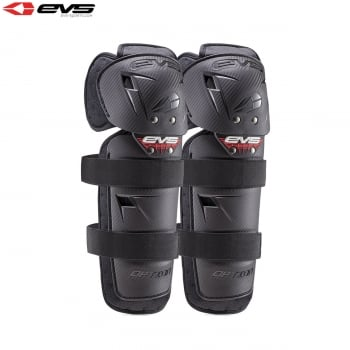 EVS Youth Option Knee Guards - Black - One Size