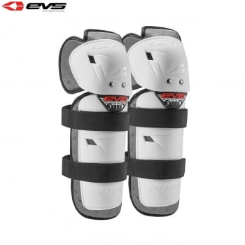 EVS Youth Option Knee Guards - White - One Size