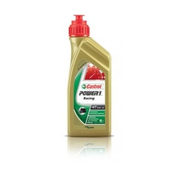 Castrol 4 Stroke 4T Motorcycle Power 1 Racing Oil - 10w40 - 1 Litre
