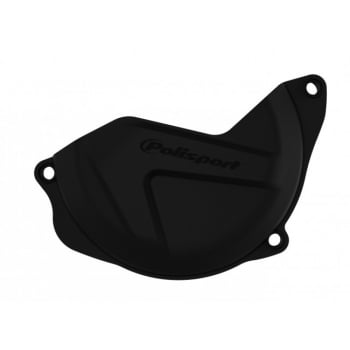 Polisport Clutch Cover Guard Protector - Honda CRF450 2010-16 - Black