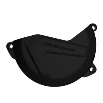 Polisport Clutch Cover Guard Protector - Kawasaki KX250F 2009-18 - Black