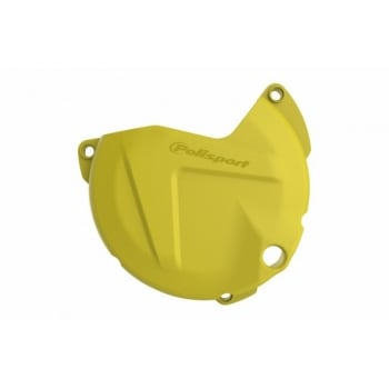 Polisport Clutch Cover Guard Protector -  KTM/ Husky SX-F/FC 450 2016-18, EXC-F/FE 450-501 2017-18 - Yellow
