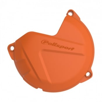 Polisport Clutch Cover Guard Protector -  KTM SX250 2012-16, EXC250/ 300 2013-16 - Orange