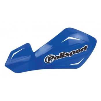 Polisport Freeflow Lite Handguards With Aluminium Mounting Kit - Blue