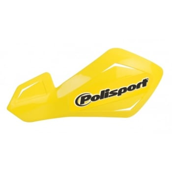 Polisport Freeflow Lite Handguards With Aluminium Mounting Kit - Yellow