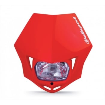 Polisport MMX Universal Front Headlight Unit - Red