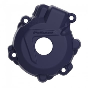 Polisport Ignition Cover Protector - KTM EXC-F250 14-16, EXC-F350 12-16 - Blue