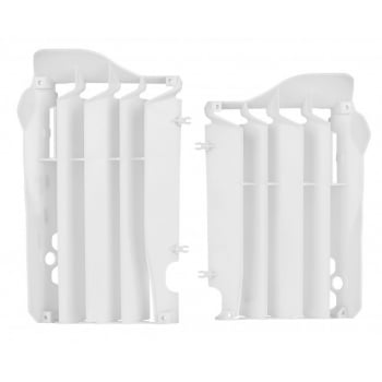 Polisport Radiator Rad Louvres To Fit Honda CRF250 2014-15 - White