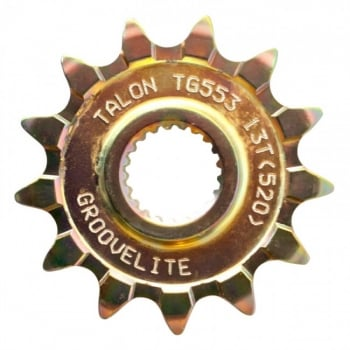 Talon Front Sprocket To Fit GROOVELIGHT KAWASAKI/YAMAHA KX/YZ250 99-17, YZ/YZF/WRF 400/426/450F 99-17 - 14T