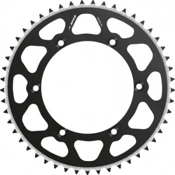 Talon Radialite Rear Sprocket To Fit HONDA CR/CRF 125/250/450 >17 48T BLACK
