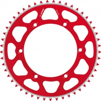 Talon Radialite Rear Sprocket To Fit HONDA CR/CRF 125/250/450 >17 49T RED