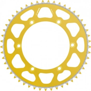 Talon Radialite Rear Sprocket To Fit HONDA CR80/85 86-07, CRF150R 07-17 54T GOLD