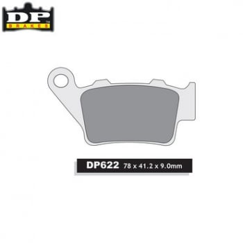 DP Brake Pads SDP622 - Rear - KTM All 125-530 1994-03, Husaberg All 2000-08