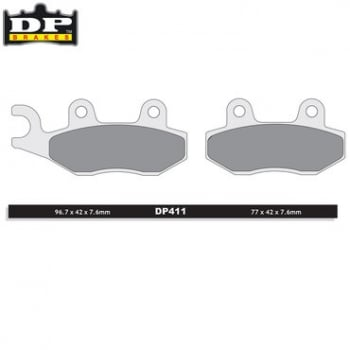 DP Off-Road/ATV (SPro-MX Compound) Brake Pads - SDP411