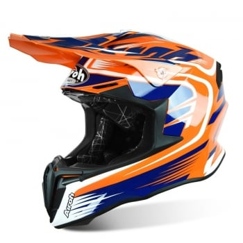 Airoh Adults Twist Mix MX Helmet - Orange