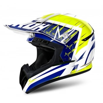 Airoh Adults Switch Startruck MX Helmet - Yellow