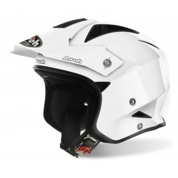 Airoh Adults TRR S Trials Helmet - White