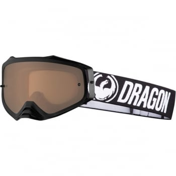 Dragon MXV PLUS Goggles - Coal / Silver Ion