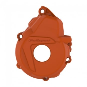 Polisport Ignition Cover Protector To Fit KTM EXCF250/350 2017-18 - Orange
