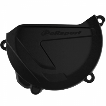 Polisport Clutch Cover Protector To Fit Yamaha YZ250 00-18, YZ250X 16-18, WR250 16-18 - Black