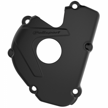 Polisport Ignition Cover Protector - Kawasaki KXF250 2017-20 - Black