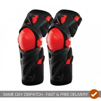 Thor Adults Force XP Motocross Hinged Knee Guards
