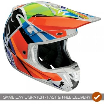 Thor Adults Verge Tracer MX Helmet Tracer - Multicolour