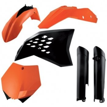 Acerbis Full Plastics Kit - KTM SXF 2007-10 - OEM Colours