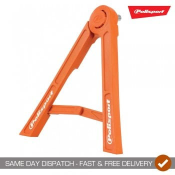 Polisport Motocross Bike Tripod Folding Axle Stand - Orange