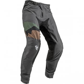 Thor Adults 2019 Prime Pro Fighter Pants - Charcoal/ Camo