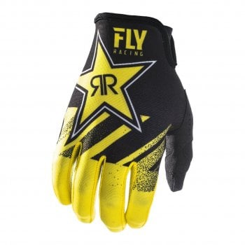Fly Racing 2019 Adults Lite Gloves - Rockstar Energy