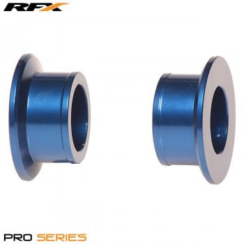 RaceFX Pro Wheel Spacers Rear (Blue) Yamaha YZF250/450 09-14