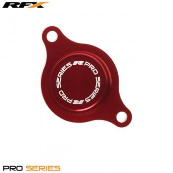 RaceFX Pro Series Filter Cover (Red) Honda CRF450 09-15