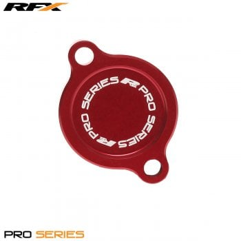 RaceFX Pro Series Filter Cover (Red) Kawasaki KXF250 04>On Suzuki RMZ250 05-06