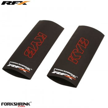 RaceFX Upper Forkshrink With KYB logo - Universal 125-525cc - Red