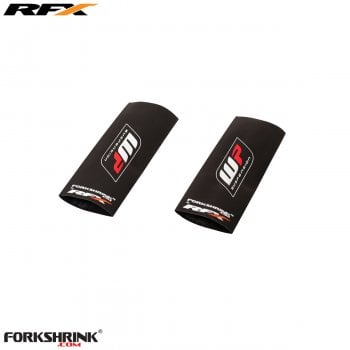 RaceFX Upper Forkshrink - Universal 65cc - White/ Red WP Logo