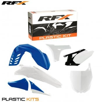 RaceFX Plastics Kit - Yamaha (Blue) YZF450 10-13 (6 Pc Kit)