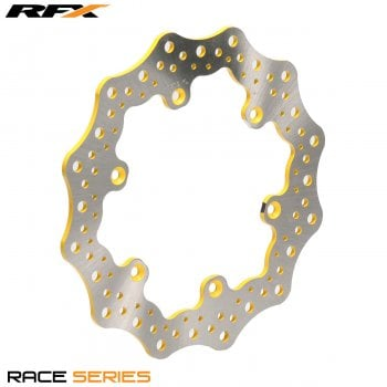 RaceFX Race Rear Disc (Yellow) Suzuki RM125/250 89-98 DRZ400 00-09