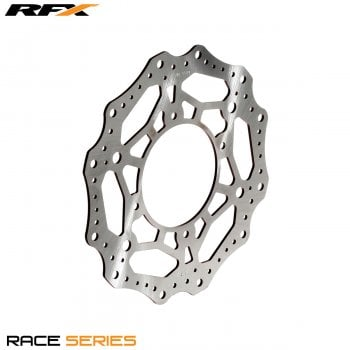 RaceFX Race Front Disc - Honda CR 80/85 96-07, CRF 150 07>On - Black